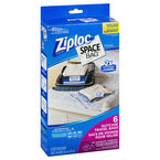 Ziploc Space Bag - Travel Set - 6's