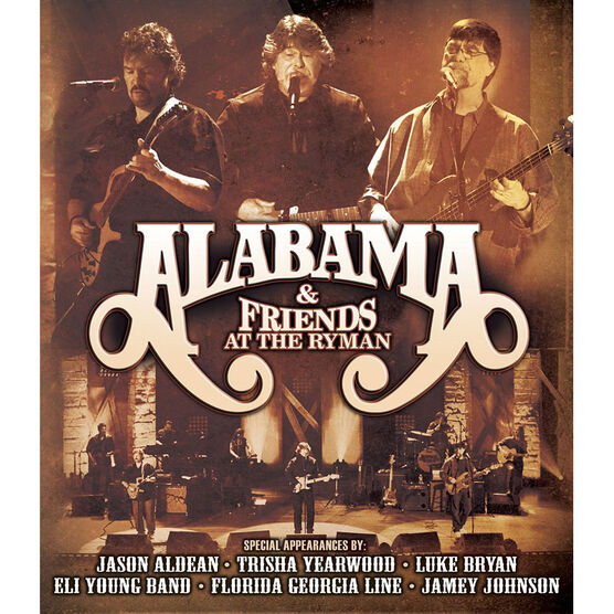 Alabama and Friends at the Ryman - DVD