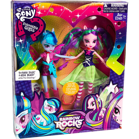 My Little Pony Equestria Girls Rainbow Rocks Dolls - Assorted - 2 pack