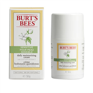 Burt's Bees Sensitive Daily Moisturizing Cream - 50g