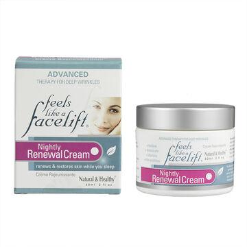Feels Like a Face Lift Nightly Renewal Cream - 60ml