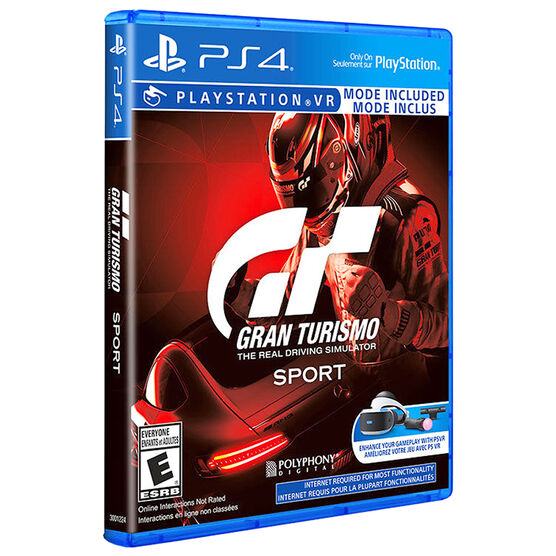 PRE-ORDER: PS4 Gran Turismo Sport