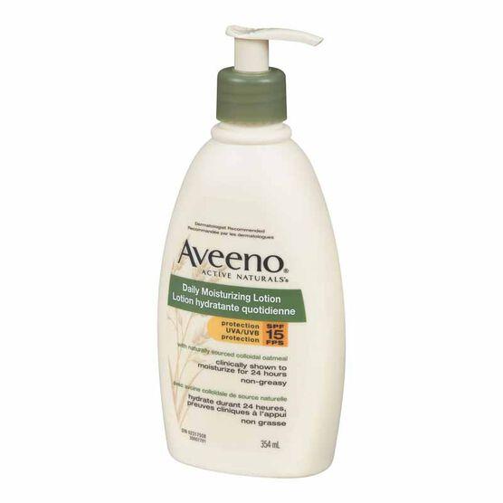 Aveeno Daily Moisturizing Lotion - SPF 15 - 354ml