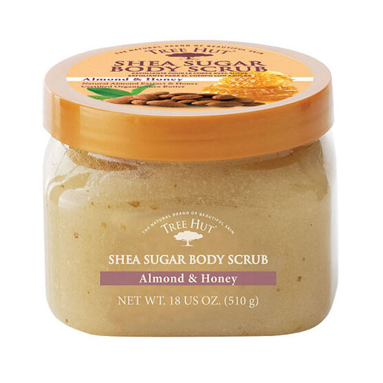 Tree Hut Body Scrub - Almond Honey - 510g
