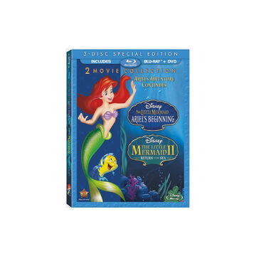 The Little Mermaid: Ariel's Beginning / The Little Mermaid II: Return to the Sea - Blu-ray + DVD