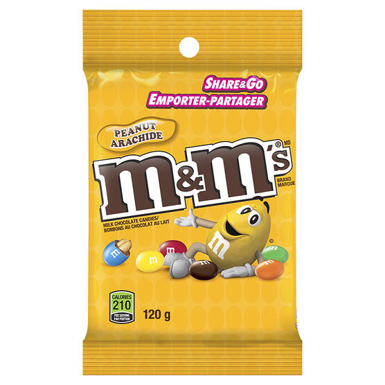M&M's Peanut - 120g