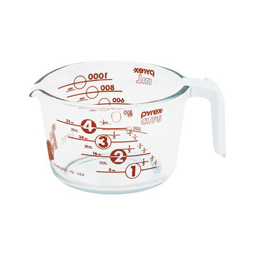 Pyrex Measuring Cup - Red - 4 cup