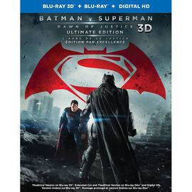 Batman v Superman: Dawn of Justice - 3D Blu-ray