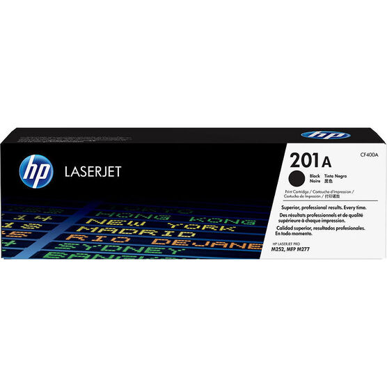 HP 201A Original LaserJet Toner Cartridge - Black - CF400A