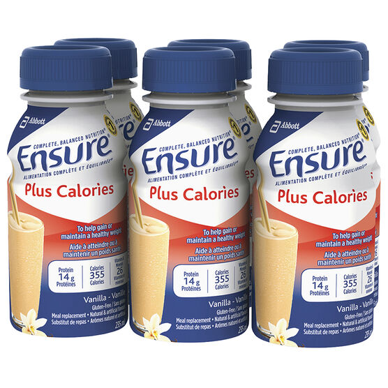 Ensure Plus Calories - Vanilla - 6 x 235ml