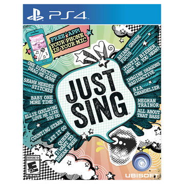 PS4 Just Sing