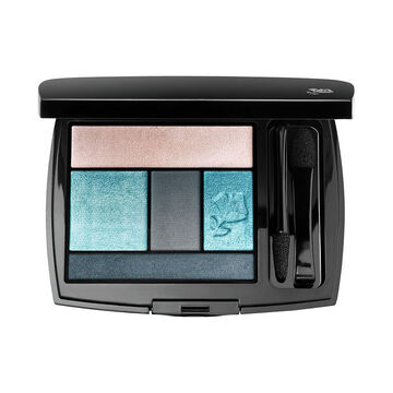 Lancome Color Design Eye Brightening All in One 5 Shadow and Liner Palette - Teal Fury