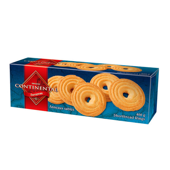 Continental Shortbread Rings - 400g