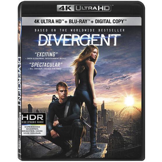 Divergent - 4K UHD Blu-ray