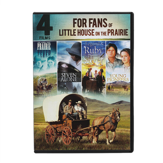 4 Films for Fans of Little House on the Prairie - DVD