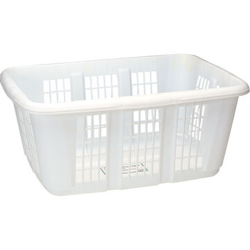 Rubbermaid Laundry Basket - White - 50L