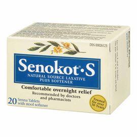 Senokot-S - 20 tablets
