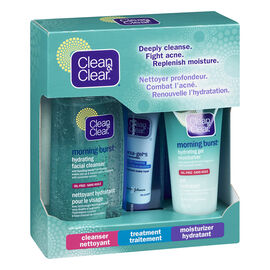 Clean & Clear Acne Kit - 3 piece