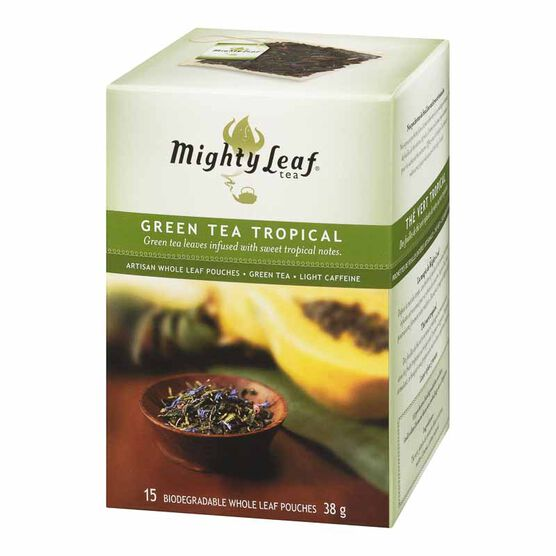 Mighty Leaf Tropical Green Tea - 15's