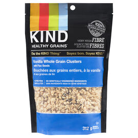Kind Vanilla Blueberry Clusters with Flax Seeds - 312g