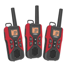 Uniden GMRS Radio 3 Pack Kit - Red - GMR30553VP