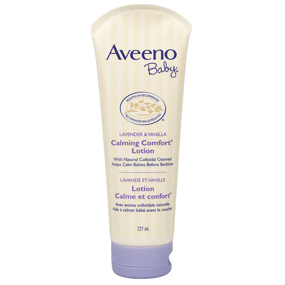 Aveeno Calming Baby Lotion - Lavender & Vanilla - 227ml