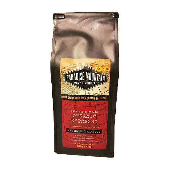 Paradise Mountain Organic Coffee - Angel's Espresso - 340g