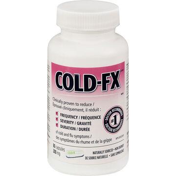 Cold-FX 200mg Bottle - 80's