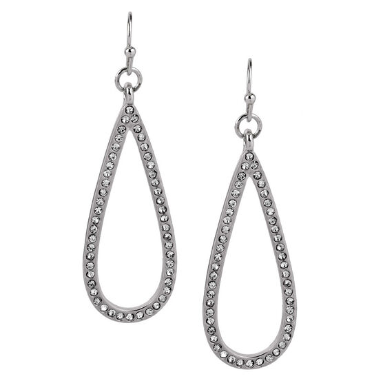 Haskell Drop Earrings - Silver