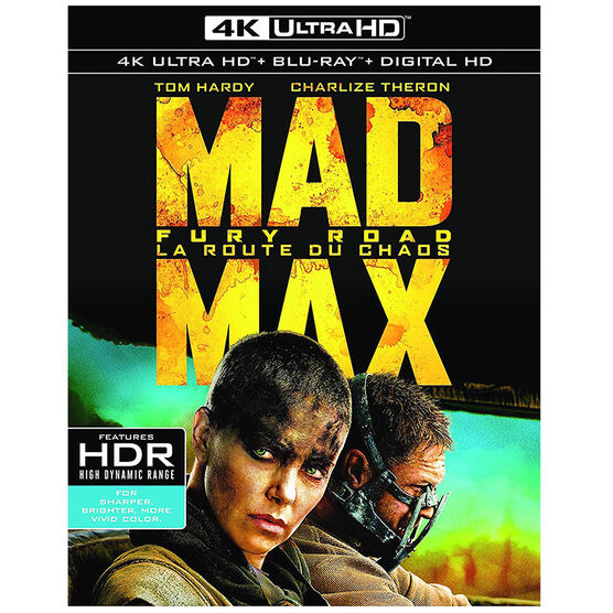 Mad Max: Fury Road - 4K UHD Blu-ray