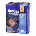 Huggies Overnites Disposable Diaper - Size 6 - 18's