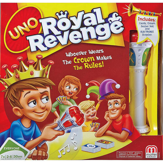 UNO Card Game - Royal Revenge
