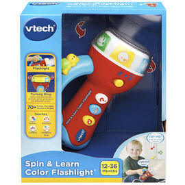 VTech Spin & Learn Colour Flashlight
