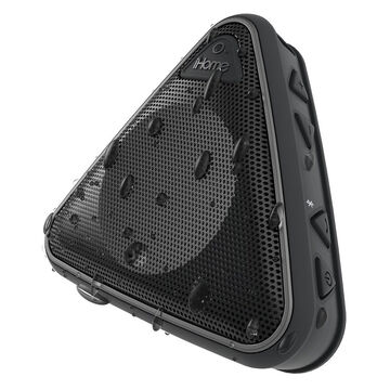 iHome Splashproof Wireless Speaker with Speakerphone - Black - IBT3BC