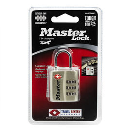 Master Lock TSA Combination Luggage Lock - 30mm