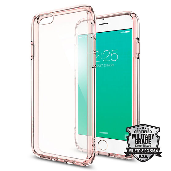 Spigen Ultra Hybrid for iPhone 6/6s - Rose Crystal - SGP11722