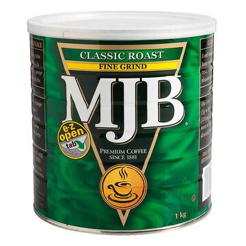 MJB Premium Fine Ground Coffee - Classic Roast - 1kg
