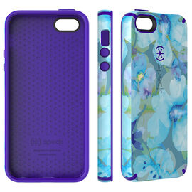 Speck CandyShell Inked Case for iPhone SE - Floral Blue - SPK77158C140