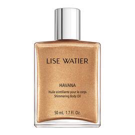 Lise Watier Havana Shimmering Body Oil - 30ml