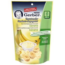 Nestle Gerber Yogurt Melts - Banana - 28g