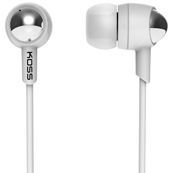 Koss In-ear Headphones - White - KEB30iw