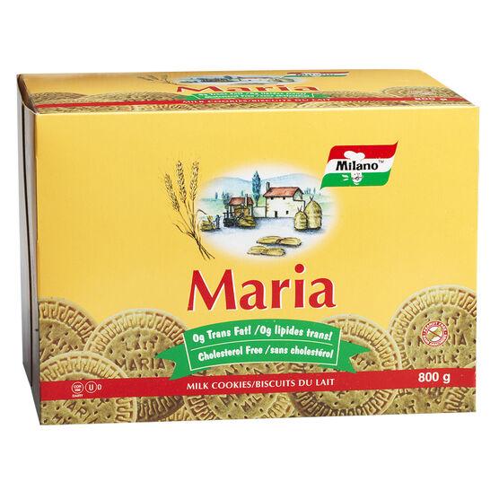 Milano Maria Milk Cookies - 800g