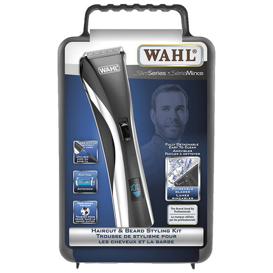 Wahl Hair & Beard Styling Kit - Black - 3215