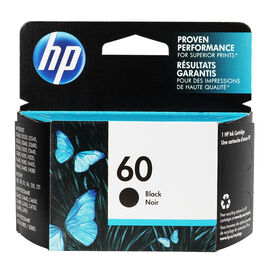 HP 60 Ink Cartridge - Black - CC640WC140