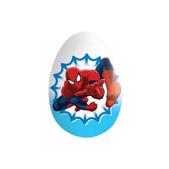 Zaini Marvel Spiderman Chocolate Egg - 20g