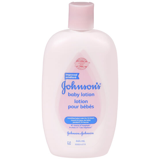 Johnson & Johnson Baby Lotion - 444ml