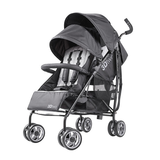 Summer Infant 3Dtwo Double Convenience Stroller - 32183