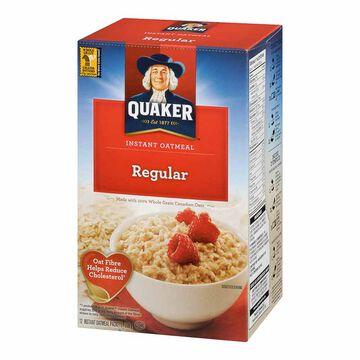 Quaker Instant Oatmeal - Regular - 336g