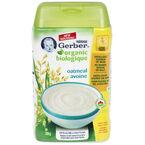 Gerber Organic Cereal - Oatmeal - 208g
