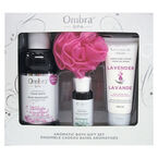 Ombra Spa Aromatic Bath Gift Set - Lavender & Eucalyptus - 4 piece